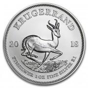 South African Mint stříbrná investiční mince Krugerrand 1 Oz 2018
