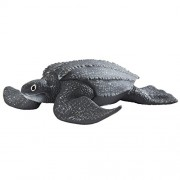 Safari Ltd. Leatherback Sea Turtle - Realistic Hand Painted Toy Figurine Model - Quality Construction from Phthalate
