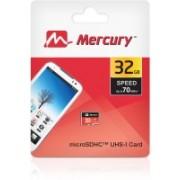 Mercury Ultra 32 GB MicroSDHC Class 10 70 MB/s Memory Card