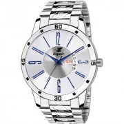 Espoir Analogue Stainless Steel White Dial Day and Date Boy's and Men's Watch - SamIstanbul0507
