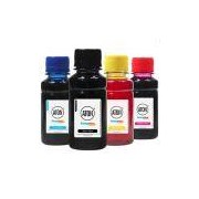 Kit 4 Tintas para Brother LC509 LC505 CMYK 100ml Corante Aton