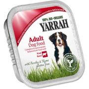 Bucati de vita cu patrunjel si cimbru Bio fara cereale pentru caini, 150g, Yarrah