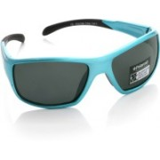Polaroid Rectangular Sunglasses(For Boys)