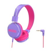 Verbatim Urban Sound Wired Over-the-head Stereo Headphone - Purple, Pink