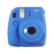 Fujifilm Kit Cámara Instantánea FUJIFILM Instax Mini 9 + 10 películas (Cobalt Blue - Obturación: 1/60 s - 2x Pilas AA - 62x46mm)