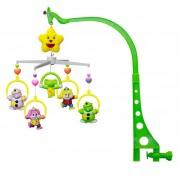 Carusel muzical pat - figurine plastic 30 cm Clowns