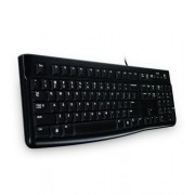 Logitech Keyboard K120 for Business, Black, US/YU, USB