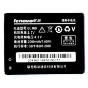 Original Lenovo BL169 Battery for Lenovo A789 P70 P800 in 2000mAh with 1 month seller warantee