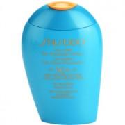 Shiseido Sun Protection leite solar de rosto e corpo SPF 50+ 100 ml