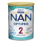 Nestle lapte praf Nan Optipro 2, 6 luni+, 400 g