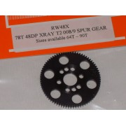 RW 48 DP Xray T4, T3 offset Supa-lite Spur Gear 78 Tooth