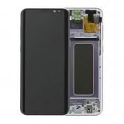 Estrutura para a Parte Frontal e Ecrã LCD GH97-20470C para Samsung Galaxy S8+ - Orchid Grey