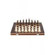 Joc Sah & Table, 26 cm, maro