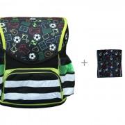 Mprinz Школьный ранец Soccer и Мешок для обуви Soccer