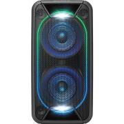 Sistem Audio Sony GTKXB90B, Hi-Fi, Bluetooth, NFC, Extra Bass, baterie, Party chain, Efecte lumini (Negru)