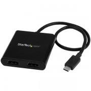 StarTech 2-poorts USB-C naar HDMI splitter