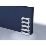 Discountoffice Systeemstelling Grondveld HxBxD 2000x1060x435mm Vakl. 225kg