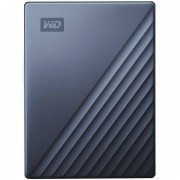 Hard disk extern WD My Passport Ultra 5TB 2.5 inch USB 3.0 Blue