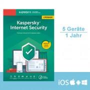 Kaspersky Lab Kaspersky Internet Security 2019 Upgrade - Multi-Device, 5 Geräte - 1 Jahr, ESD