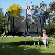 Trambulina copii 10ft TP Genius Octagonal SurroundSafe TP Toys