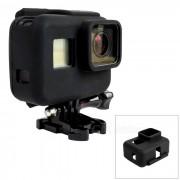 estuche de silicona cubierta protectora para GoPro Hero 5 - negro