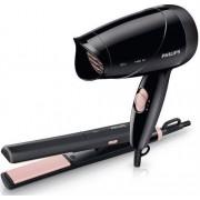 Philips (HP8644/40) Hair Dryer & Straightener set - Dryer: compact design for easy handling