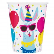 Llama Party Cups (Pack of 8)