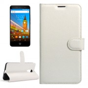For Wileyfox Swift 2 & Wileyfox Swift 2 Plus (5.0) Litchi Texture Horizontal Flip Leather Case with Magnetic Buckle & Holder & Card Slots & Wallet (White)