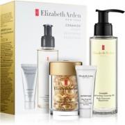 Elizabeth Arden Ceramide Replenshing Cleansing Oil coffret I. (antirrugas) para mulheres