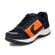 REVOKE Runner Camo Mesh Idp Blue Running Shoes (9 UK/IND)