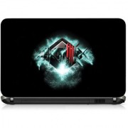 VI Collections THREE STICKS IN RED pvc Laptop Decal 15.6