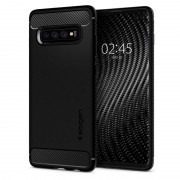 Carcasa Spigen Rugged Armor Samsung Galaxy S10 Plus Matte Black