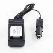 Reemplazo 1200mAh cargador de bateria para OLYMPUS Li-50B de la Serie - Negro
