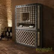 Dulap cu rafturi pentru sticle de vin design deosebit Bobal SV-387485