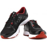Reebok Men's Edge Quick Lp Black, White and Red Running Shoes - 9 UK