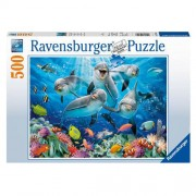 Ravensburger Puzzel Dolfijnen in het koraalrif RAVENSBURGER