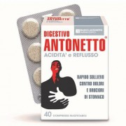 Chiesi Farmaceutici Spa Digestivo Antonetto Acidita' E Reflusso 40 Compresse