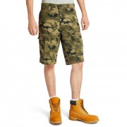 Timberland Short Cargo Tarleton Lake Pour Homme En Vert Camouflage Vert Camouflage, Taille 30