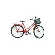 Bicicleta Monark Tropical Fi Aro 26 - Vermelha
