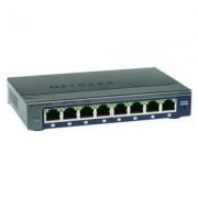 Switch Netgear Prosafe 8 portas Unmanaged Plus 10/100/1000 Base-T