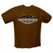 GamersWear Shooting Star T-Shirt Black (XL)