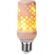Star Trading LED-Lampa E27 T45 Flame Lamp Vit