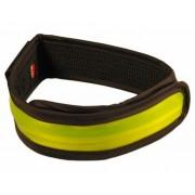 Ikzi Light reflecterende met led verlichting armband geel
