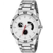 29K Analog Round White Dial Men Watch / Fashionable Men Watch / Watches For Men -065