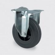 TENTE Transportrolle 100 mm, schwarzer gummi