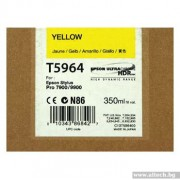 EPSON Yellow Inkjet Cartridge for Stylus Pro 7900/9900 (C13T596400)