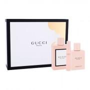 Gucci Bloom confezione regalo Eau de Parfum 100 ml + lozione per il corpo 100 ml + Eau de Parfum 7,4 ml donna