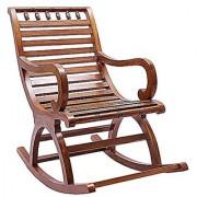 Shilpi Amazing Hand Carved Rocking Chair Sheesham Wood