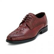 Froskie Men's Designer Formal Burgandy Formal Shoes _FR-110-BURGUNDY-8
