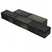 Klinker Beton Facet Grijs/Zwart 21x10,5x8 cm - 36 Klinkers / 0,75 m2